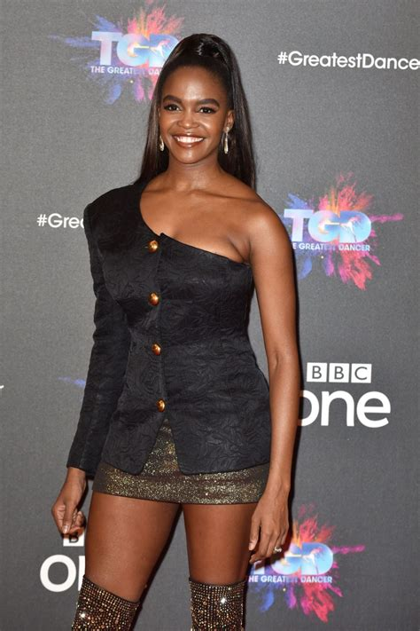 OTI MABUSE at The Greatest Dancer Photocall in London 12