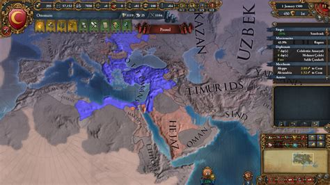 Any advice for Ottoman World Conquest Run?   Paradox