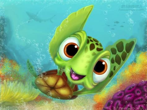SQUIRT THE TURTLE FROM FINDING NEMO!!!!!! | squirt the