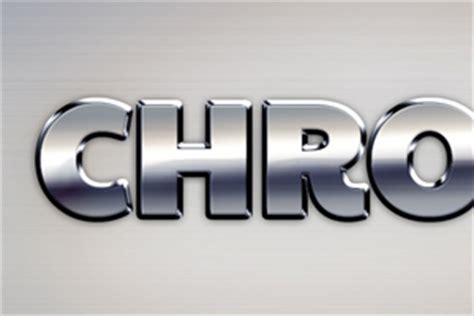 Chrome Text Effect   GraphicBurger