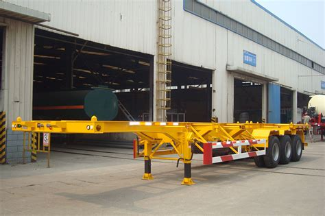 20 Ft Deichsel Container Chassis Skeleton Container