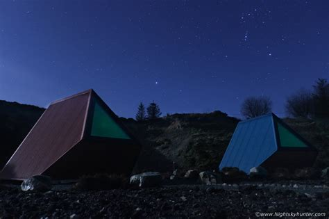 Sperrin View Glamping Night Sky Photography - January 2020