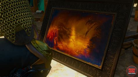 Where to find paintings in Blood and Wine   Witcher 3