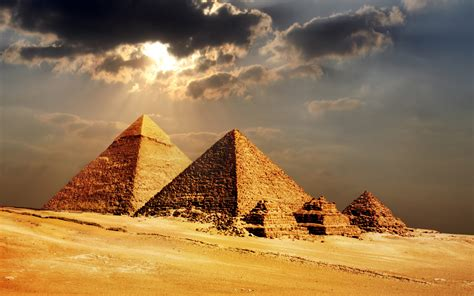Secrets of the Pyramids in Giza Cairo Egypt Africa