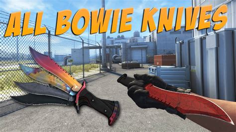CS:GO - Bowie Knife | All Bowie Knives Overview / Showcase