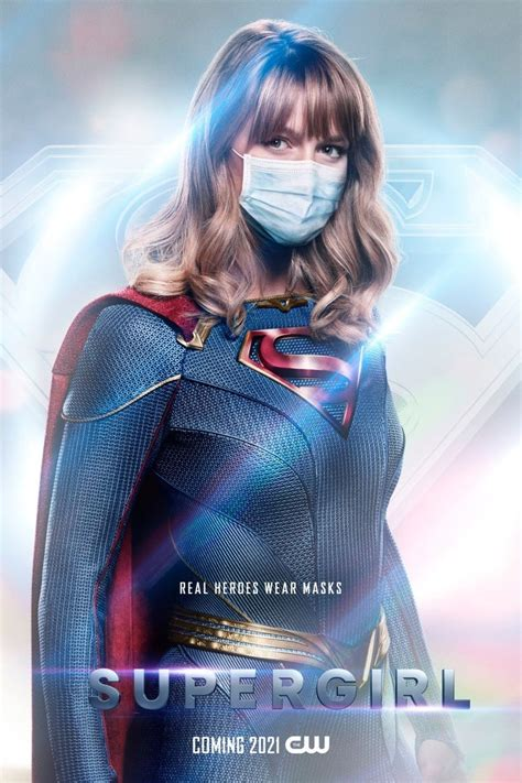 """The CW Releases DC """"Real Heroes Wear Masks"""" Posters"""