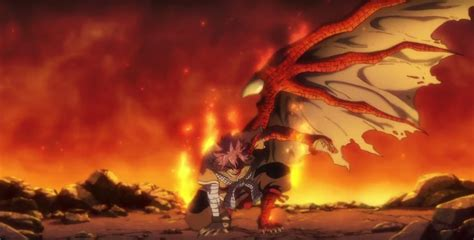 Things are heating up as Draconian Natsu awakens in the