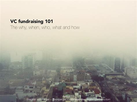 VC Fundraising 101 for Startup Businesses from Wellington