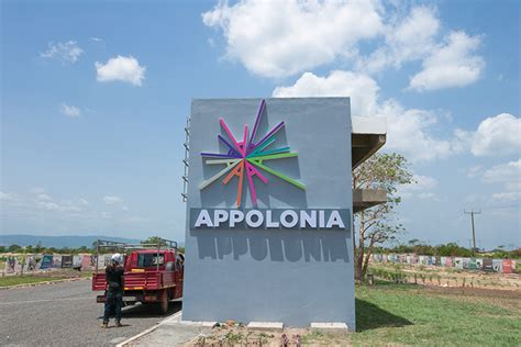 Real estate development on the outskirts of Accra in Ghana