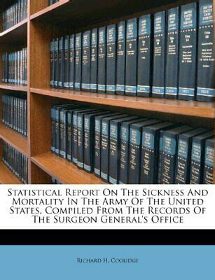 Statistical Report On The Sickness And Mortality In The