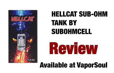 HellCat Tank by SubOhmCell - A Full Kit Review | Spinfuel VAPE