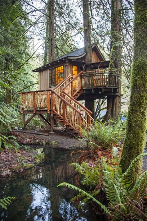 Not for kids: At TreeHouse Point, adults can relax and