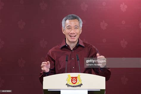 Singapore Prime Minister, Lee Hsien Loong speaks during